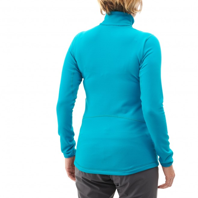 Women's lightweight fleecejacket - blue TECH STRETCH TOP W Millet 2