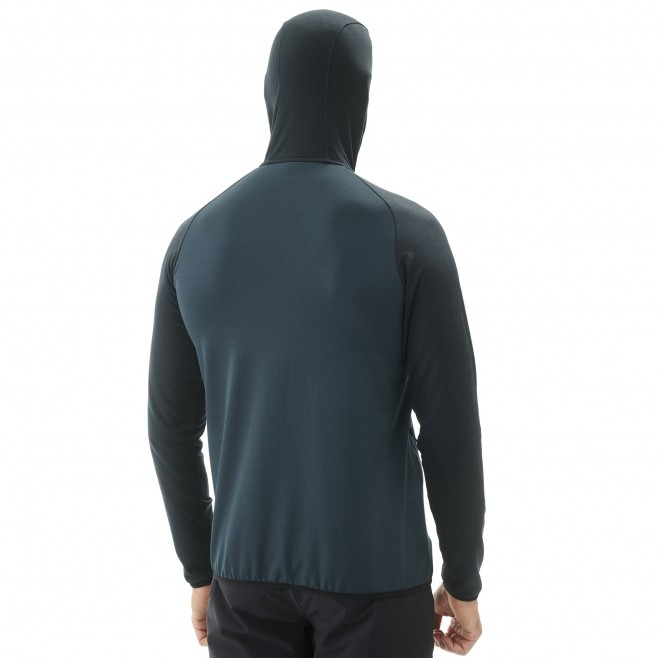 Men's lightweight fleecejacket - hiking - navy-blue SENECA TECNO HOODIE Millet 3