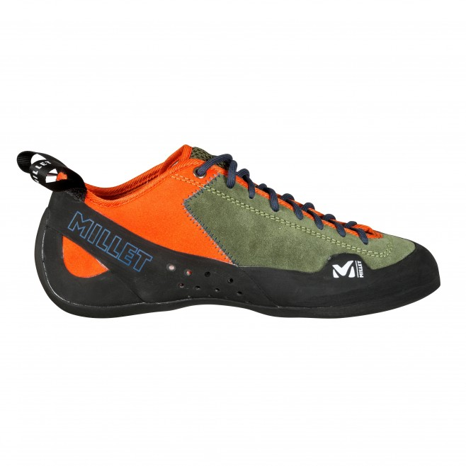 Climbing shoes - climbing - khaki ROCK UP Millet