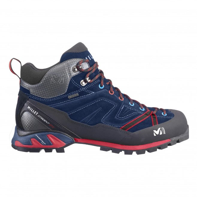 Gore-tex shoes - approach - navy-blue SUPER TRIDENT GTX Millet