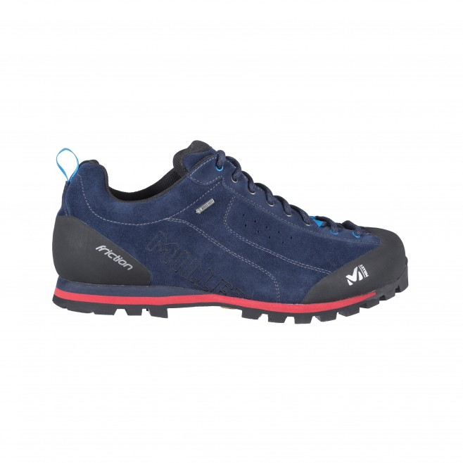 Men's gore-tex shoes - approach - navy-blue FRICTION GTX Millet