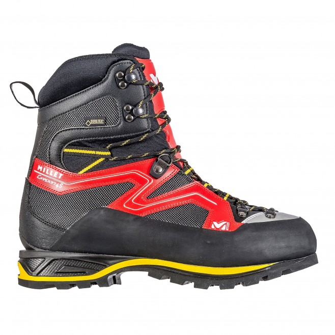 Gore-Tex high cut shoes - red GREPON 4S GTX Millet