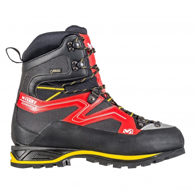 high cut shoes - red GREPON 4S GTX Millet