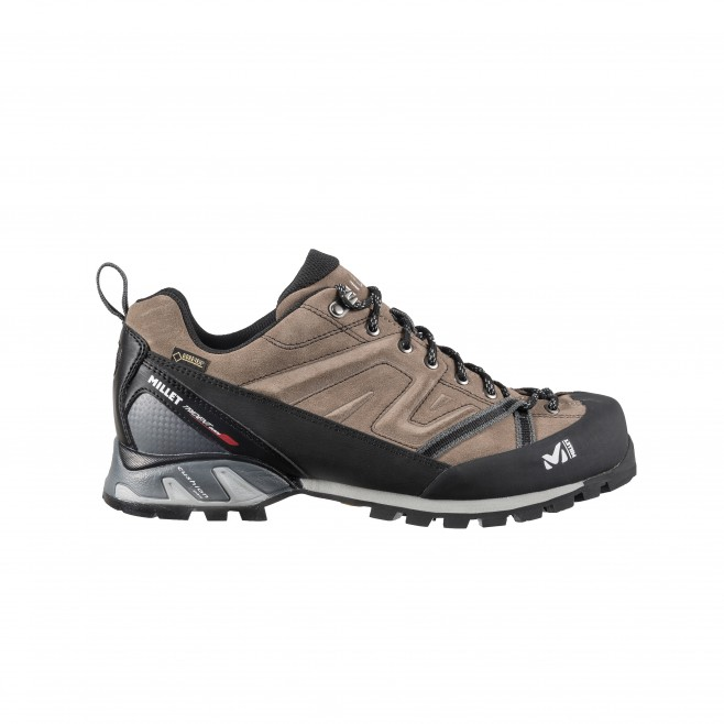 Gore-tex shoes - approach - beige TRIDENT GUIDE GTX Millet