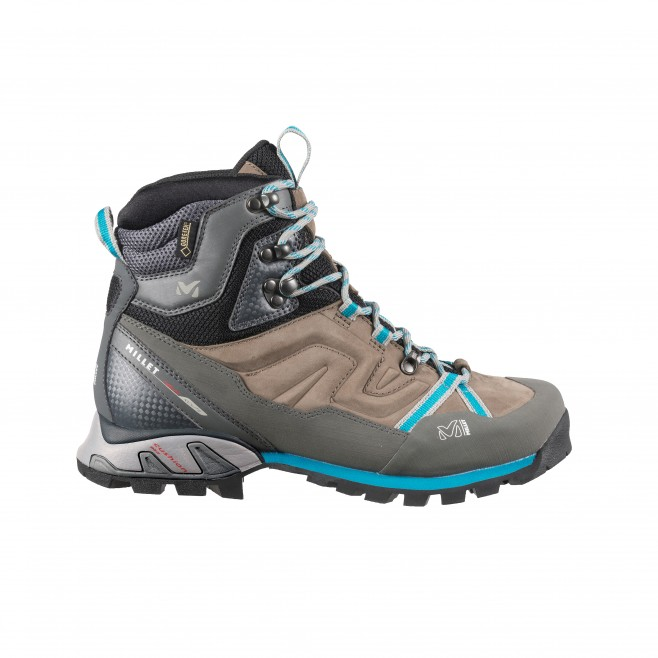 brown hiking shoes For women LD HIGH ROUTE GTX Millet