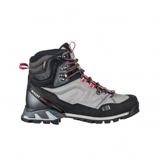 Women's gore-tex shoes - trekking - grey LD HIGH ROUTE GTX Millet