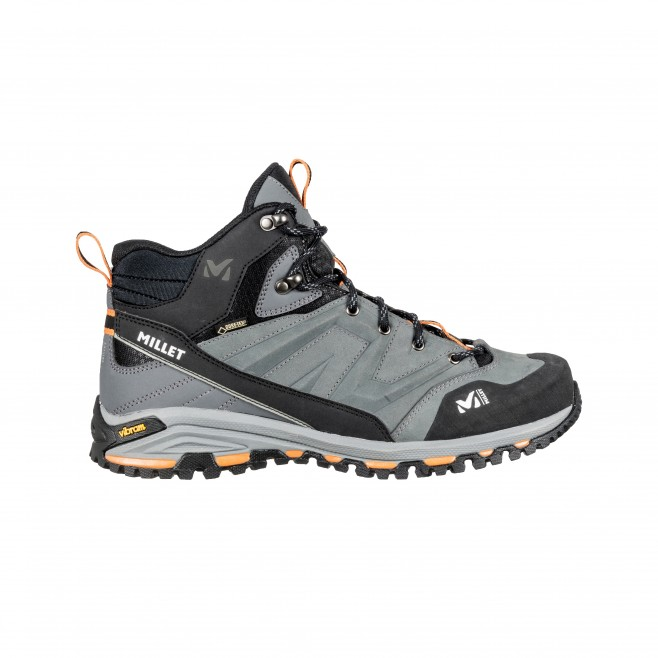 Men's gore-tex shoes - hiking - grey HIKE UP MID GTX Millet