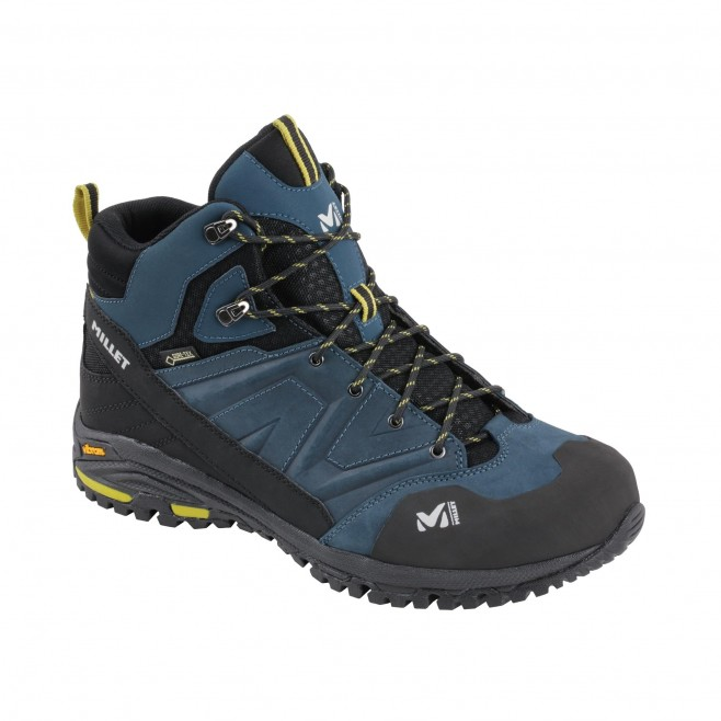 Men's high cut shoes - navy-blue HIKE UP MID GTX M Millet 2