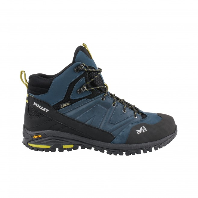 Men's high cut shoes - navy-blue HIKE UP MID GTX M Millet