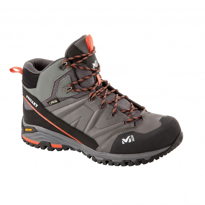 Men's Gore-Tex shoes  -  grey HIKE UP MID GTX M Millet 2