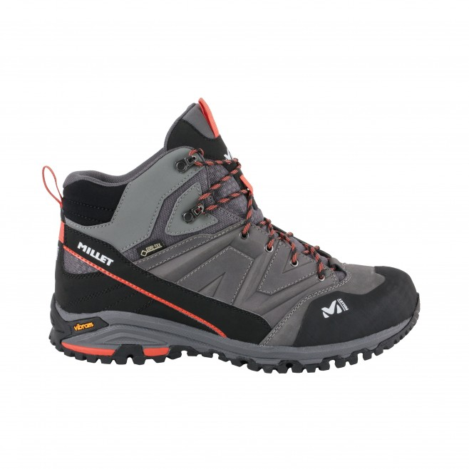 Men's Gore-Tex shoes  -  grey HIKE UP MID GTX M Millet