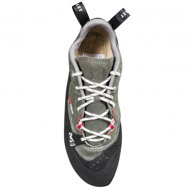 Climbing shoes - climbing - grey CLIFFHANGER LACE Millet 2