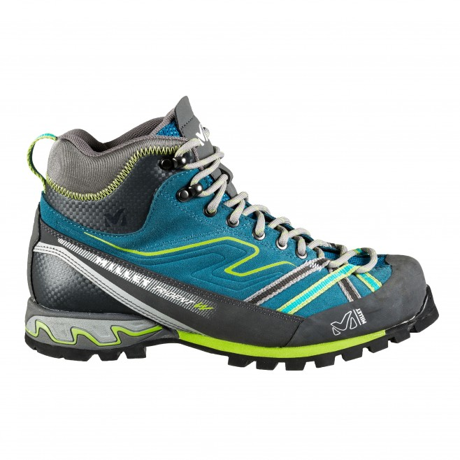 Women's gore-tex shoes - approach - turquoise LD SUPER TRIDENT GTX Millet