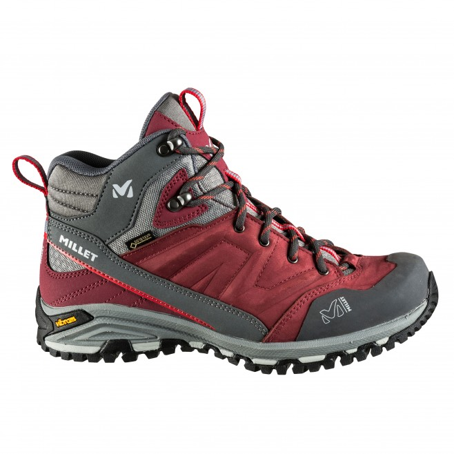 Women's Gore-Tex shoes  -  brown HIKE UP MID GTX W Millet