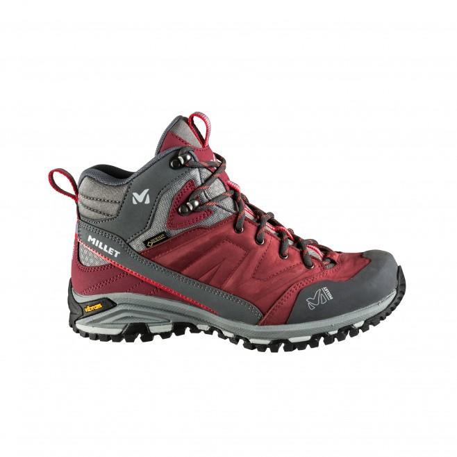 Women's gore-tex shoes - hiking - brown LD HIKE UP MID GTX Millet