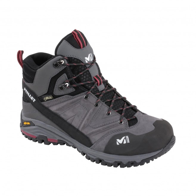 Women's high cut shoes - grey HIKE UP MID GTX W Millet 2