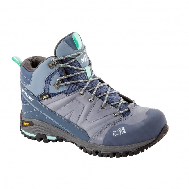 Women's  Gore-Tex high cut shoes - grey HIKE UP MID GTX W Millet 2