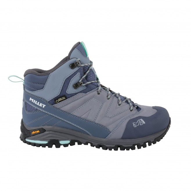 Women's  Gore-Tex high cut shoes - grey HIKE UP MID GTX W Millet