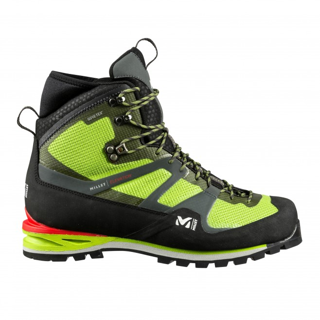 Gore-tex shoes - mountaineering - green ELEVATION GTX Millet