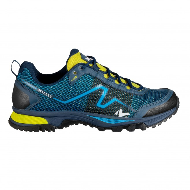 Men's low-cut boots - trail running - blue OUT RUSH Millet