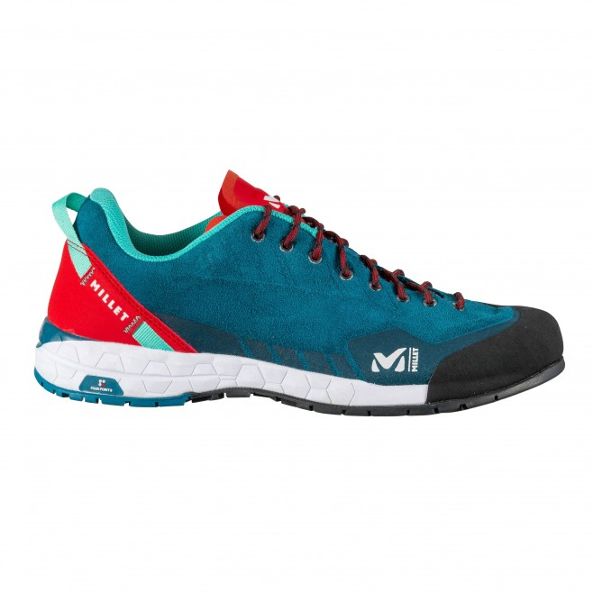 Women's  low cut shoes - turquoise AMURI LEATHER W Millet