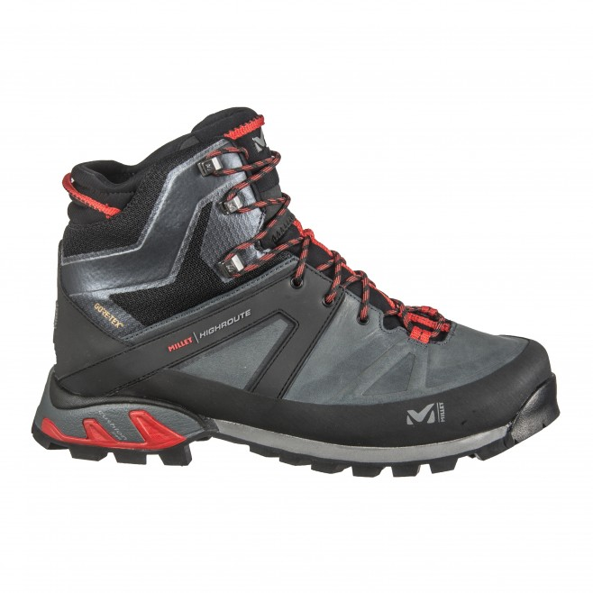 Men's Gore-Tex shoes  -  khaki HIGH ROUTE GTX M Millet
