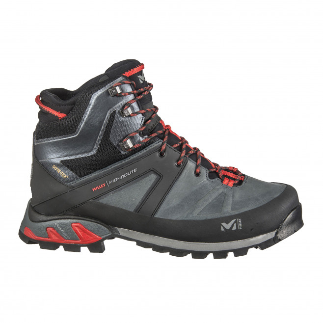 Men's gore-tex shoes - black HIGH ROUTE GTX M Millet