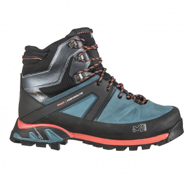 Women's gore-tex shoes - green HIGH ROUTE GTX W Millet