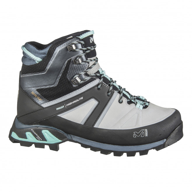Women's gore-tex shoes - grey HIGH ROUTE GTX W Millet