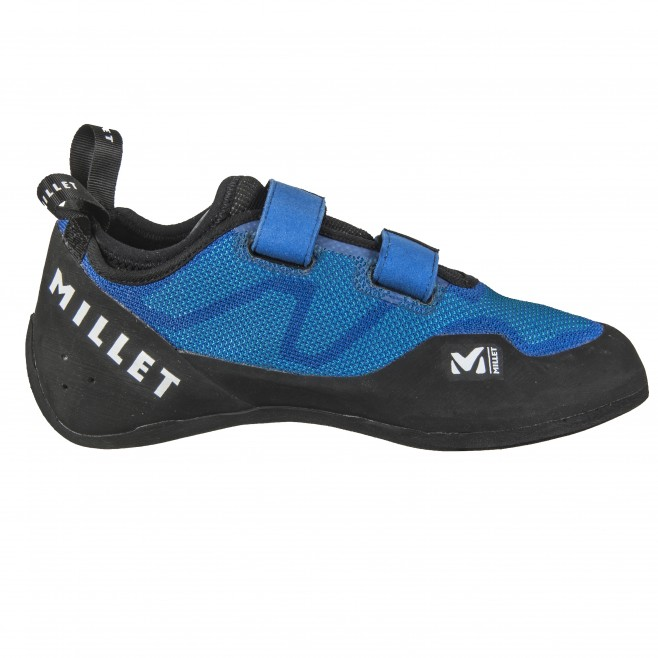 Climbing shoes - blue EASY UP KNIT Millet