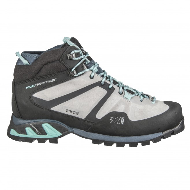 Women's Gore-Tex shoes  -  grey SUPER TRIDENT GTX W Millet
