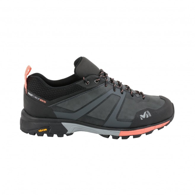 Women's  Gore-Tex low cut shoes - grey HIKE UP LEATHER GTX W Millet 2
