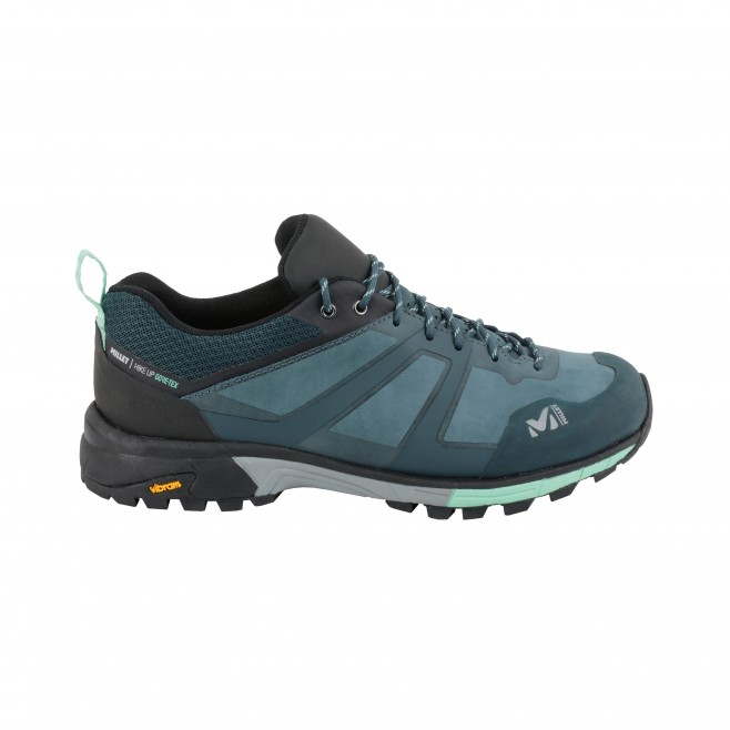 Women's  Gore-Tex low cut shoes - blue HIKE UP LEATHER GTX W Millet