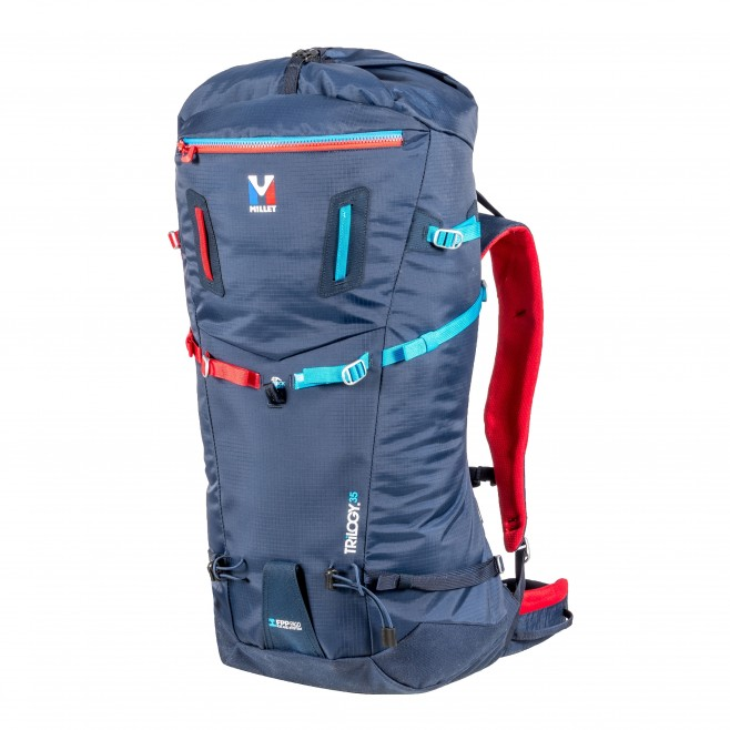 Backpack - mountaineering - blue TRILOGY 35 Millet