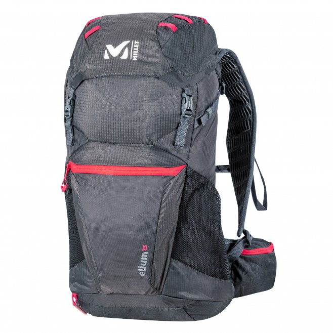 black hiking backpack For man ELIUM 25 Millet