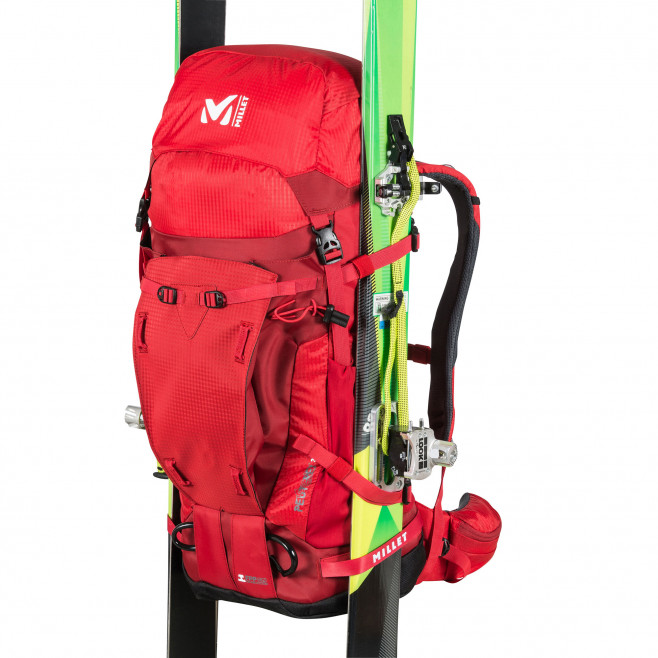 Backpack - red PEUTEREY INTEGRALE 35+10 Millet 3