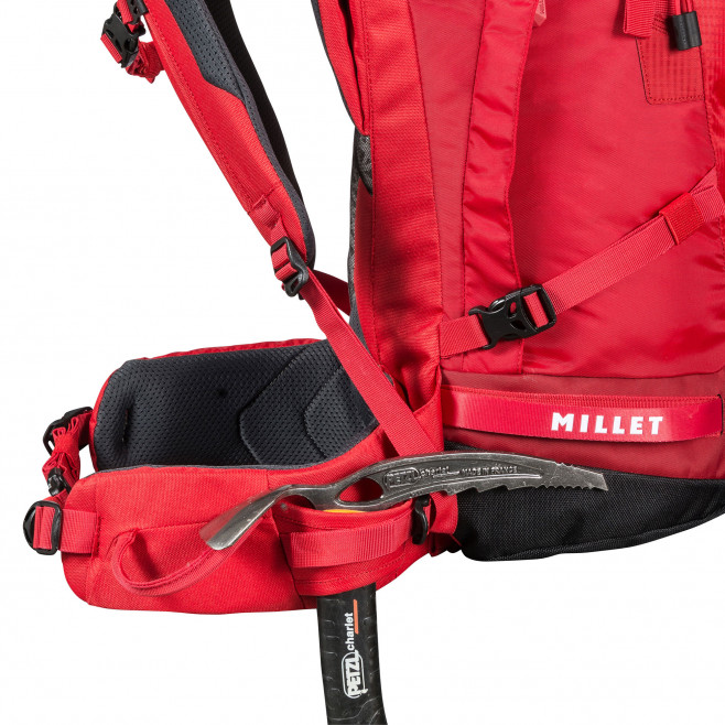 Backpack - red PEUTEREY INTEGRALE 35+10 Millet 4