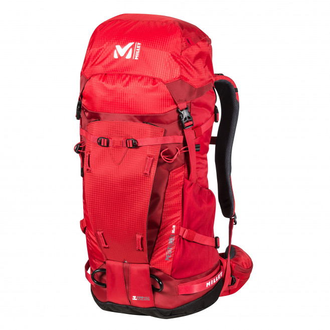Backpack - red PEUTEREY INTEGRALE 35+10 Millet