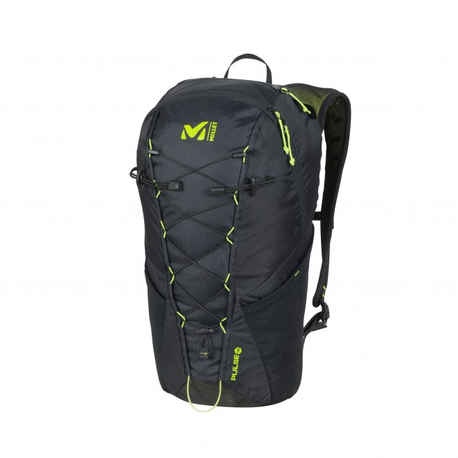 Backpack - trail running - black PULSE 16 Millet
