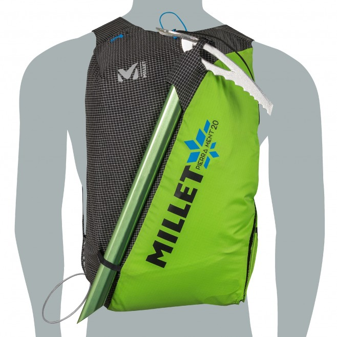 Backpack - green PIERRA MENT 20 Millet 10