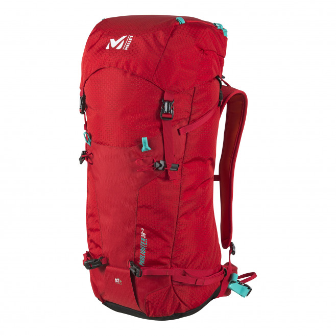 Backpack - red PROLIGHTER 38+10 Millet