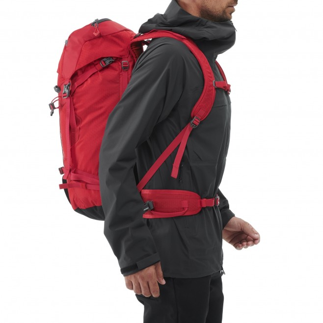 Backpack  -  red PROLIGHTER 30+10 Millet 2
