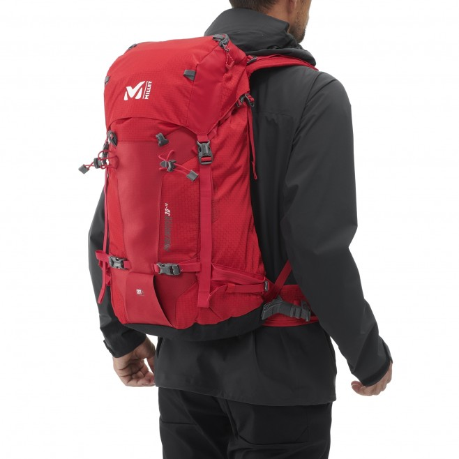 Backpack  -  red PROLIGHTER 30+10 Millet 3