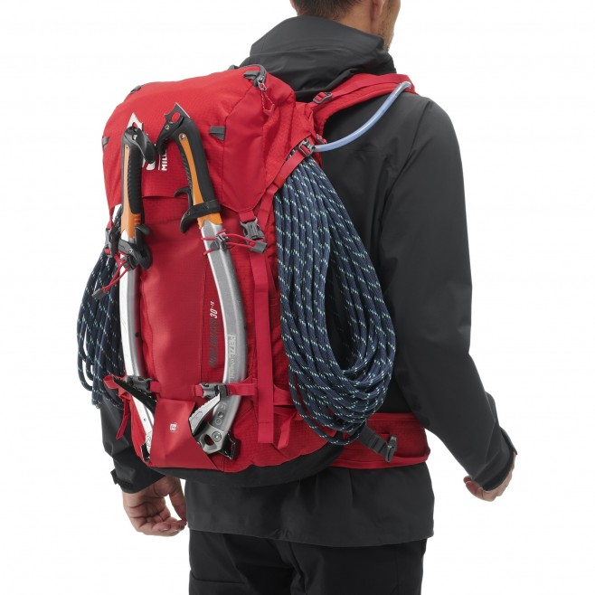 Backpack  -  red PROLIGHTER 30+10 Millet 4