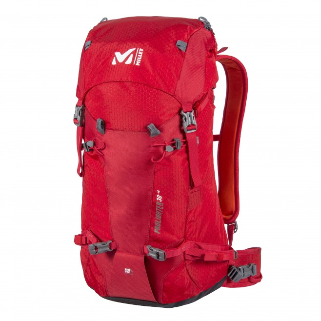 Backpack  -  red PROLIGHTER 30+10 Millet