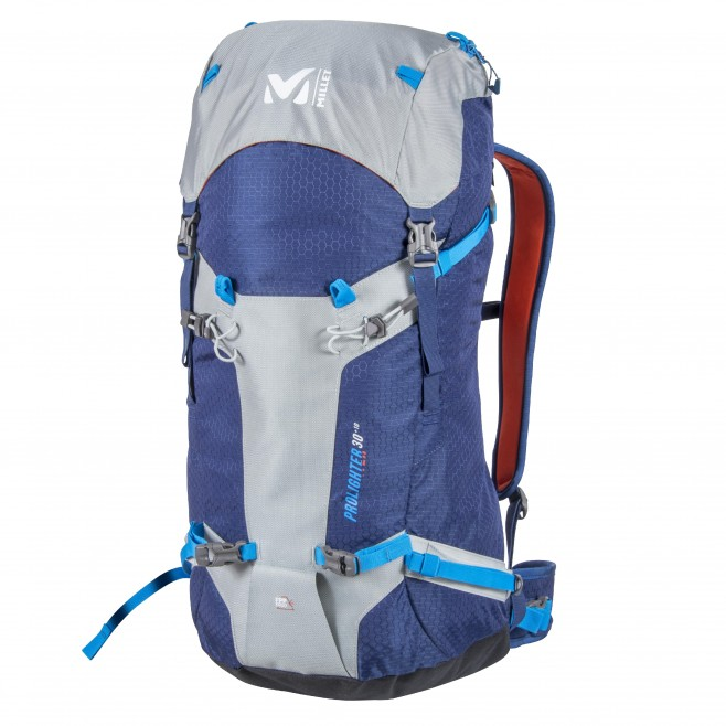398401e643 ... Backpack - mountaineering - blue PROLIGHTER 30+10 Millet ...