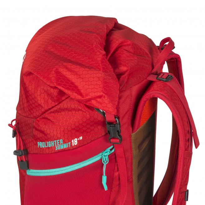 Backpack - mountaineering - red PROLIGHTER SUMMIT 18 Millet 2