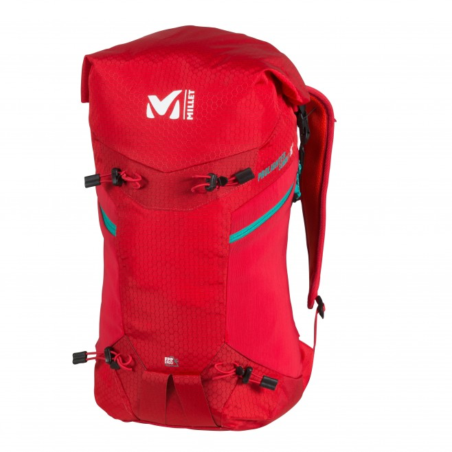 Backpack - mountaineering - red PROLIGHTER SUMMIT 18 Millet