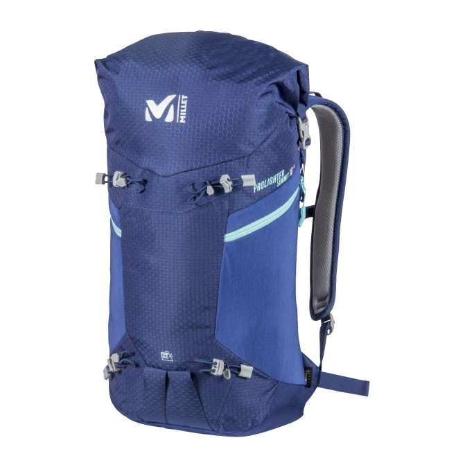 Backpack - mountaineering - blue PROLIGHTER SUMMIT 18 Millet