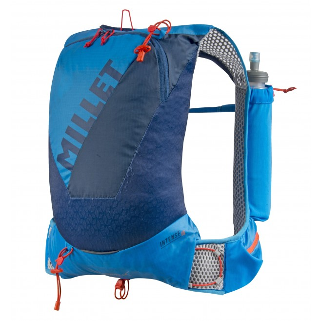 Backpack - trail running - blue INTENSE 15 Millet